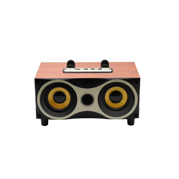 Wooden bluetooth speaker with high end quality sound